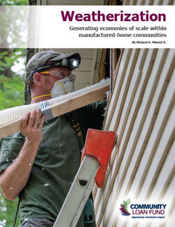 Cover of weatherization report