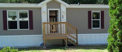 New manmufactured home