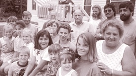 Families living in Meredith Center Cooperative, 1983