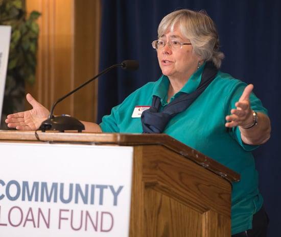 Julie Eades speaks at our 2015 celebration