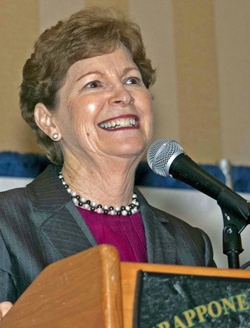 US Senator Jeanne Shaheen at 2012 Co-ops Celebrating Community