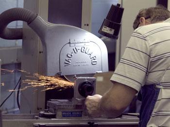 Machine worker at Johnson Precision