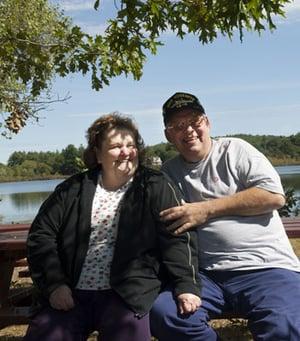Pat and Ziggy Zeveckas
